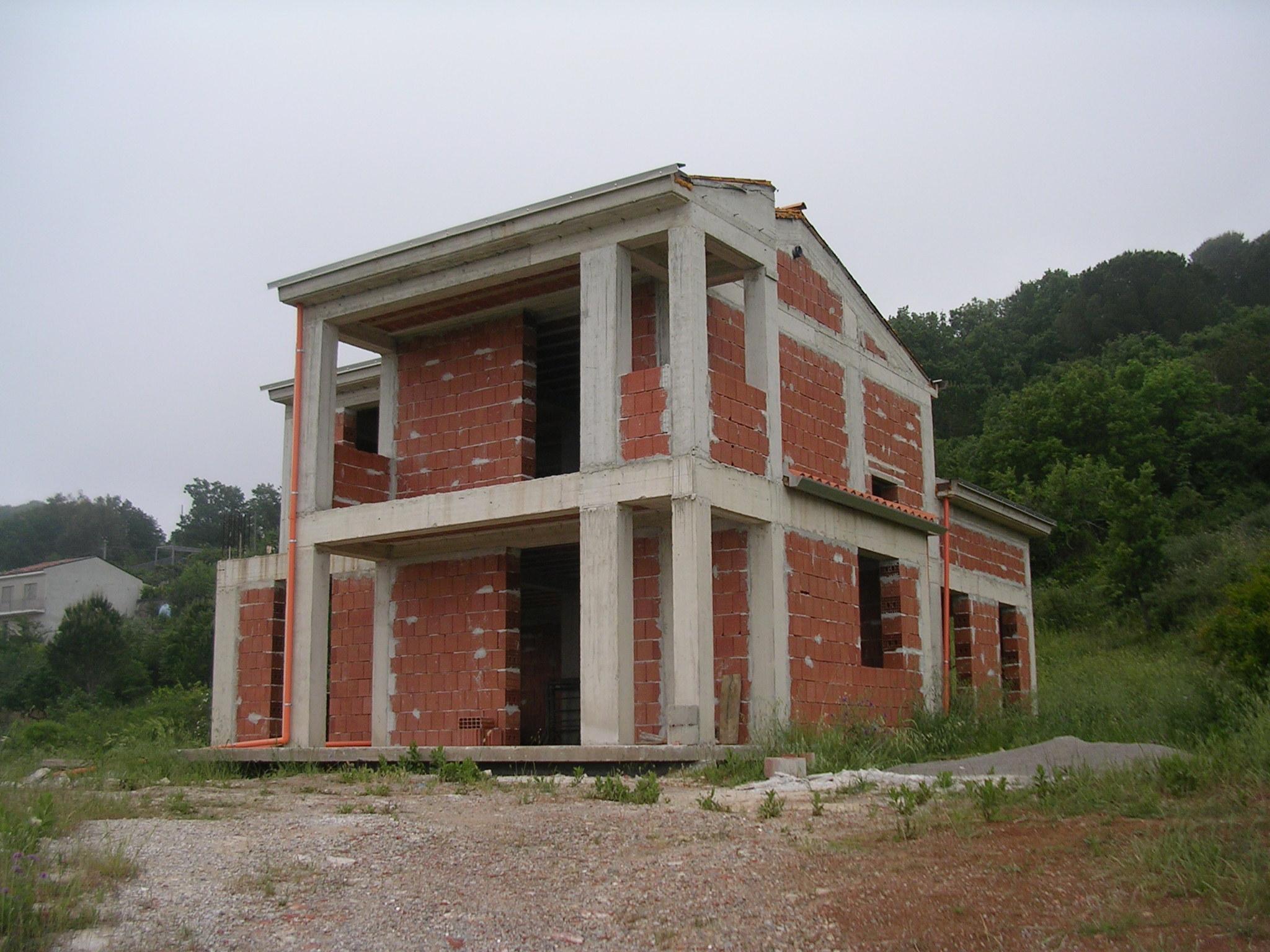 Fabbricato in corso di costruzione